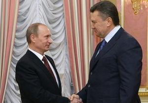 В ходе визита Януковича в Москву Путин хочет поговорить с ним как с другом