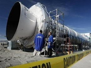В США отменено испытание ускорителя ракеты-носителя Ares-1 за 20 секунд до начала