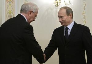 Азаров и Путин решат вопрос газотранспортного консорциума в ближайшие два месяца