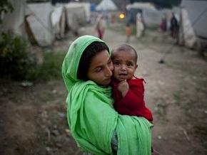 США выделяют Пакистану $100 млн гуманитарной помощи