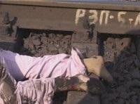 В Крыму поезд сбил насмерть женщину