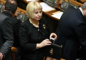 Новое правительство - Герман заявила, что не будет работать под началом Табачника