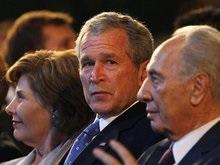Буш поддержал Израиль в борьбе с террористами и Ираном