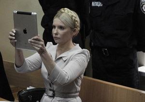 Фотогалерея: А Вас я попрошу удалиться. Судья вынудил Тимошенко покинуть заседание