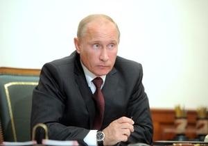 Путин выразил соболезнования родным и близким погибших при катастрофе Як-42