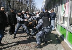 Акцию против застройки в центре Киева разогнал Беркут: задержаны пять человек