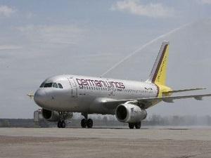 Авиакомпания Germanwings отмечает годовщину работы в Украине