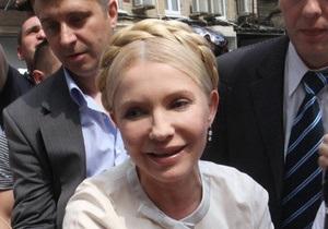 Тимошенко свободно покинула Генпрокуратуру