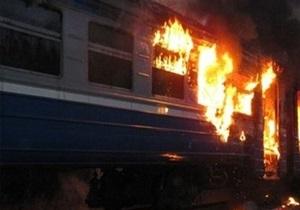 В Волынской области горел дизельный пассажирский поезд