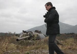 Медведев вновь прибыл на Курилы