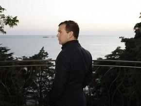 Кремль: Медведев направил послание лично Ющенко, а не украинцам
