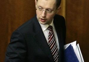 Яценюк предложил запретить алкогольным компаниям спонсировать спортивные передачи