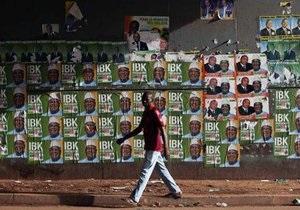 В Мали выбирают президента