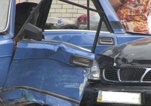 новости Житомира - ДТП - В Житомире майор милиции врезался в Жигули, три человека госпитализированы