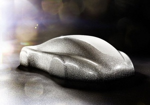 В Германии создали бриллиантовый Porsche