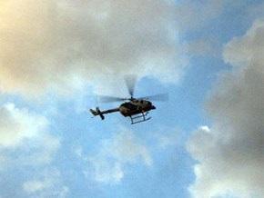 В Донецкой области разбился вертолет