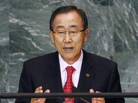 Генсек ООН осудил взрывы в Бостоне