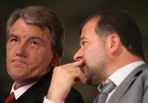 Балога: У Ющенко не было шансов остаться президентом