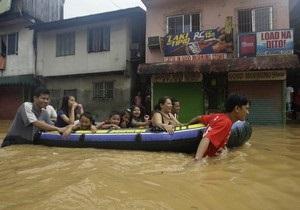 Столицу Филиппин затопило