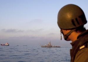 Канадскому и ирландскому суднам не удалось прорвать блокаду сектора Газа