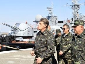 Ющенко на учениях в Крыму увидел  высокий патриотизм и дух  украинской армии