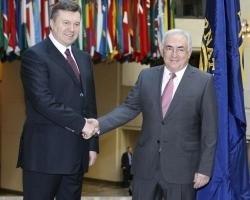 Янукович надеется на продолжение  конструктивного диалога  с МВФ