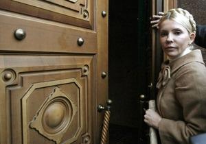Сегодня Тимошенко вызывают в прокуратуру