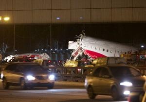 СМИ: выжившие при крушении Ту-204 - в тяжелом состоянии