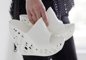 Голландский дизайнер распечатал на 3D-принтере коллекцию обуви