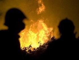 В Хмельницкой области сгорела церковь
