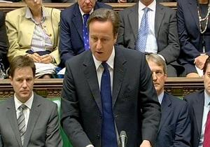 Британский премьер попросил прощения за  кровавое воскресенье