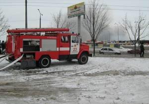 Пожар в запорожском гипермаркете потушен