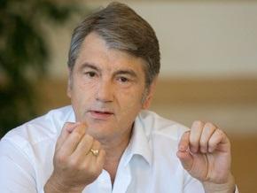 Ющенко готовит ответ Медведеву