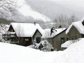 Первый день нового года много снега не обещает