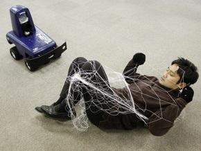 Японский робокоп будет ловить преступников сетью