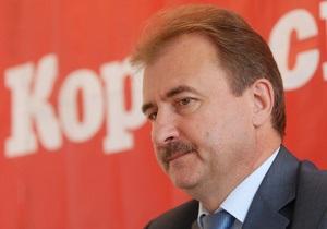 В Раде зарегистрирован проект постановления об отставке Попова