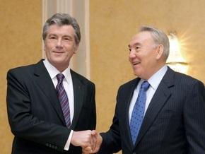 Ющенко поздравил Назарбаева с днем рождения