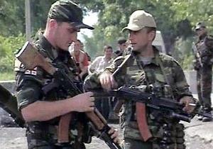В приграничной с Южной Осетией зоне Грузии прогремел взрыв