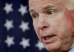 Маккейн: На кону оказалось будущее свободы и демократии в Украине