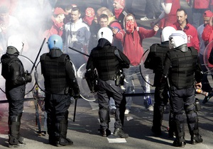 В Брюсселе полиция разогнала демонстрантов, пытавшихся прорваться на саммит ЕС