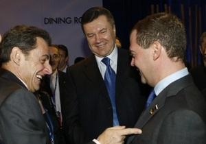 Янукович отправляется в Париж