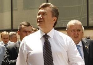 Янукович назвал протесты против вырубки деревьев в Харькове  остаточным политическим явлением