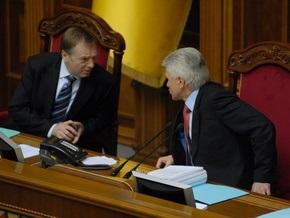 Литвин заявил, что не видит оснований для увольнения Лавриновича
