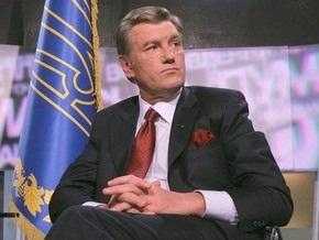Корреспондент: Ющенко общается с западными СМИ в пять раз чаще, чем с украинскими