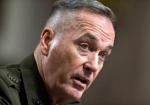 Обама утвердил нового командующего силами НАТО в Афганистане