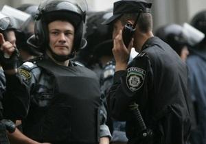 Порядок возле здания ВАСУ в пятницу будут охранять до 200 милиционеров