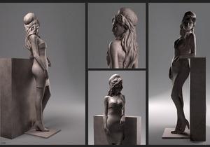 В Сети появились первые изображения скульптуры Эми Уайнхаус