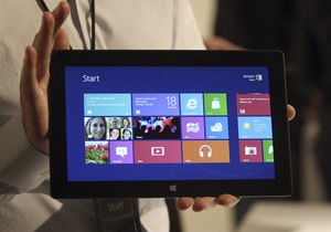 Акции Microsoft не поднялись в цене после презентации Windows 8