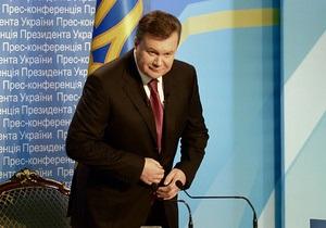 Более половины украинцев не поддерживают деятельность Януковича - опрос