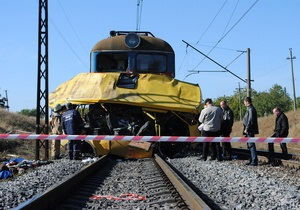 Укрзалізниця: У машиниста локомотива не было возможности избежать столкновения